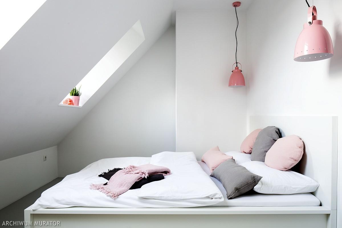 Mały pokój na poddaszu