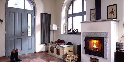 Rozprowadzanie ciepłego powietrza z kominka