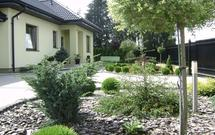 Aranżacje i projektowanie ogrodów, zagospodarowanie działki - galeria