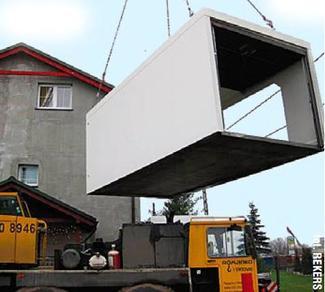 Garaż gotowy z prefabrykatów betonowych (1)