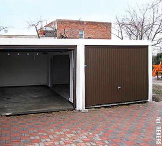 Garaż gotowy z prefabrykatów betonowych (3)