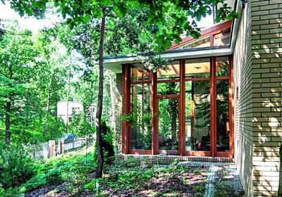 Oranżeria - kształt i forma zgrane z architekturą domu