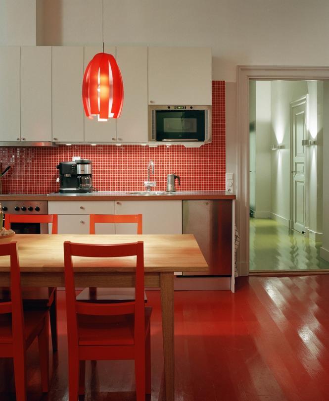 Galerie zdjęć  Czerwona kuchnia  nie tylko dla osób z