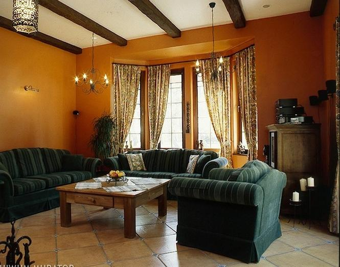 Salon w domu kostce