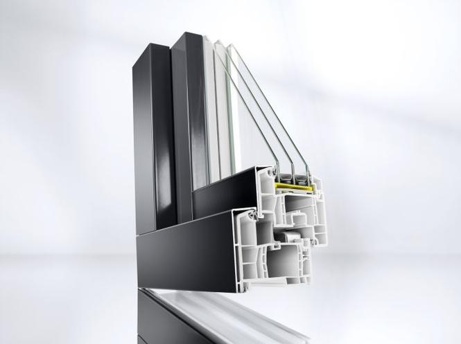 Okna z aluminiowymi nakładkami