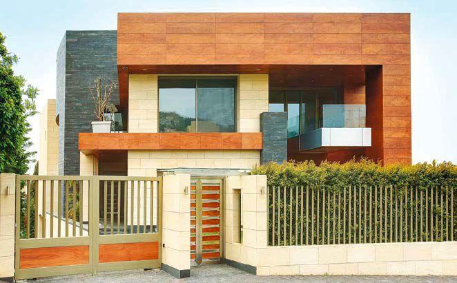 Fasada z płyt bakelitowych