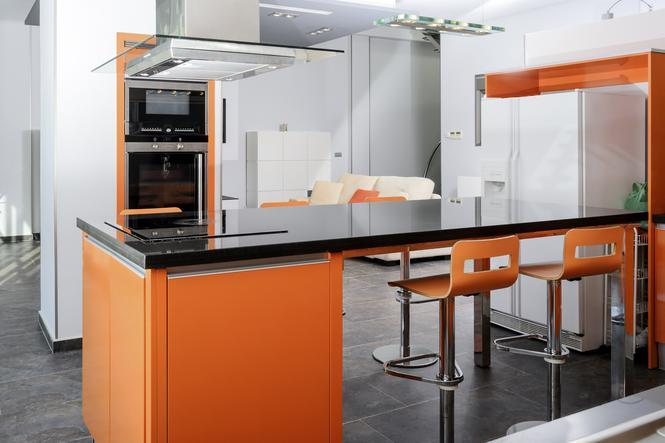Kolory w kuchni - pomarańczowy
