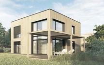 Ekologiczny dom kostka. II nagroda w konkursie Dom Dostępny na 2021 rok
