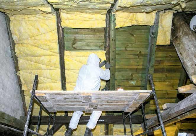 Izolacja termiczna skosów poddasza